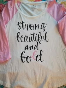 Plus size Breast Cancer Awareness Women's Tee